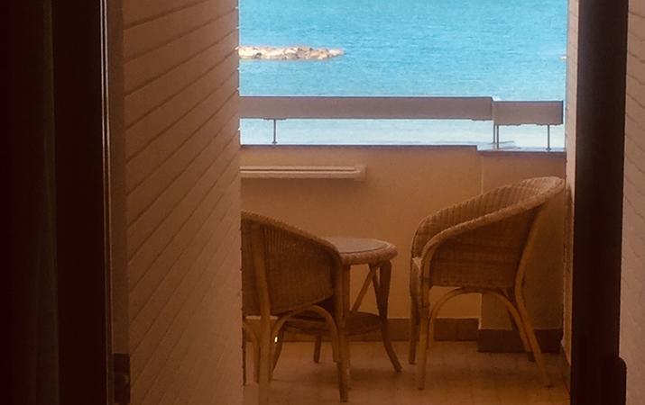Terrazzo sul mare Hotel Adriatic